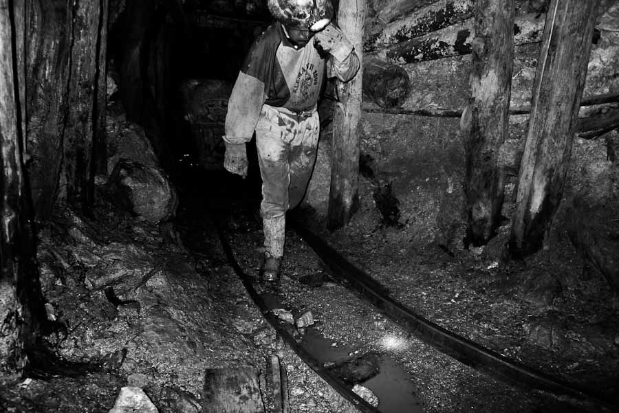 Bolivian Mines Documentary Photo