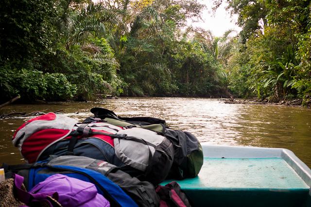 Mochilas por rio, Costa Rica